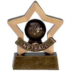 Mini Star Netball Trophy - A965