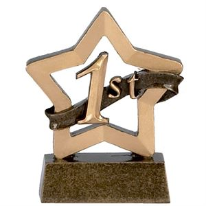 Mini Star First Place Trophy