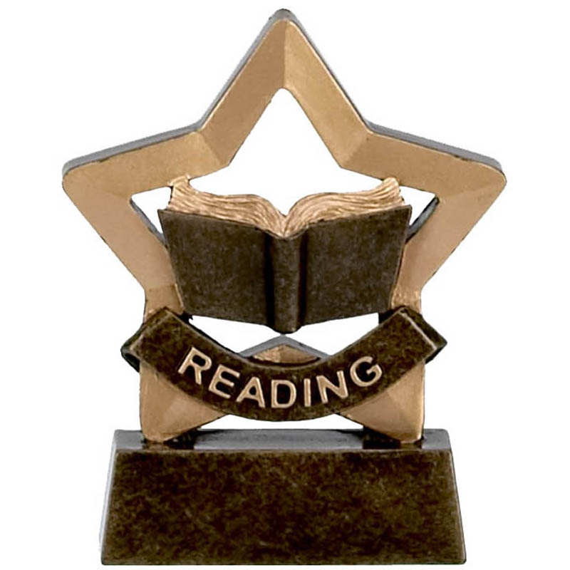 Mini Star Reading Trophy - A973