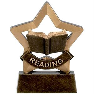 Mini Star Reading Trophy