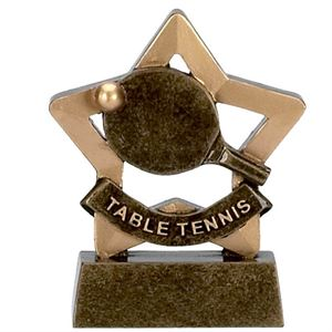 Mini Star Table Tennis Trophy - A966