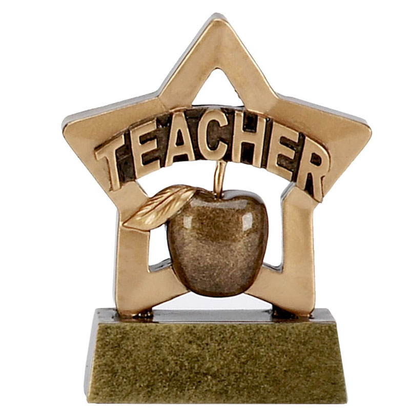 Mini Star Teacher Trophy - A1110
