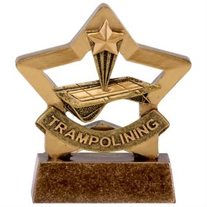 Mini Star Trampolining Trophy - A1661