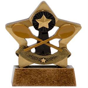 Mini Star Wooden Spoon Trophy - A1638A