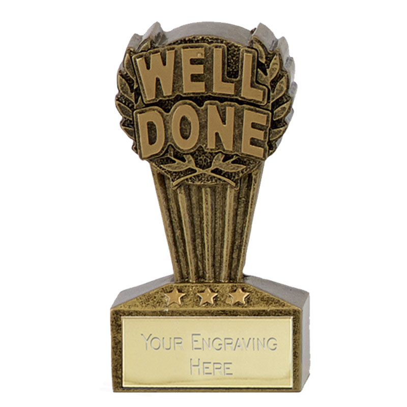 Micro Well Done Trophy - A1769