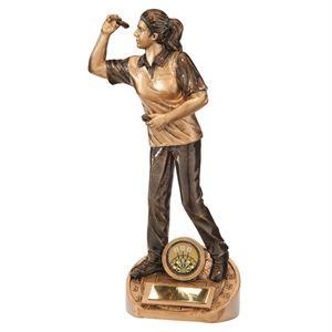 Bullseye Female Darts Award - RF17058