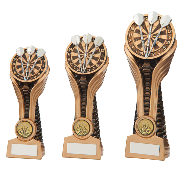 Gauntlet Darts Tower Trophy - 3 sizes