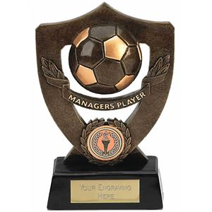 Celebration Football Shield Managers Player Award - A801