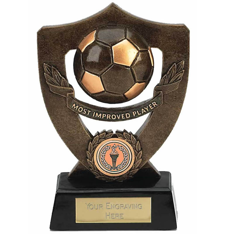 Celebration Football Shield Most Improved Player Award - A806
