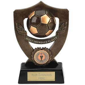 Celebration Football Shield Most Improved Player Award