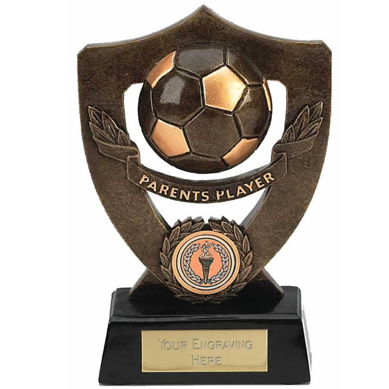 Celebration Football Shield Parents Player Award - A803