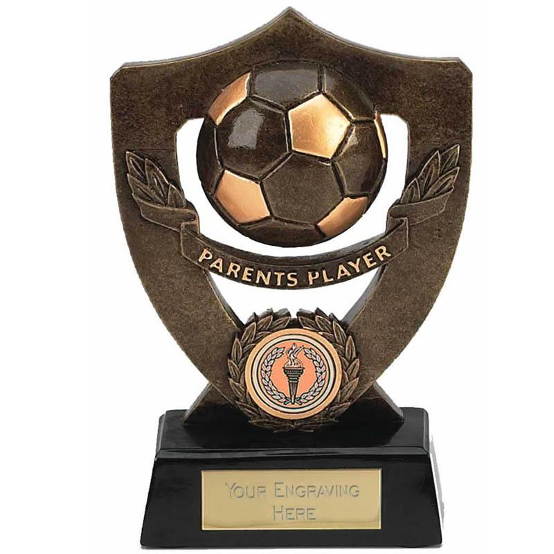 Celebration Football Shield Parents Player Award - A803