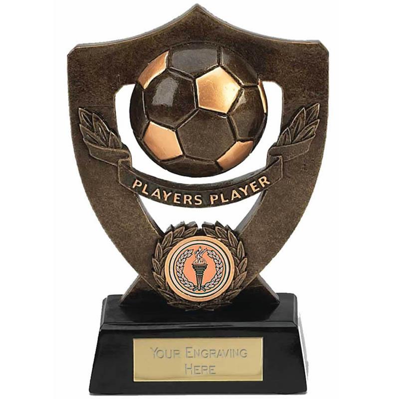 Celebration Football Shield Players Player Award - A802