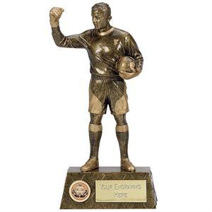 Pinnacle Football Goalie Trophy