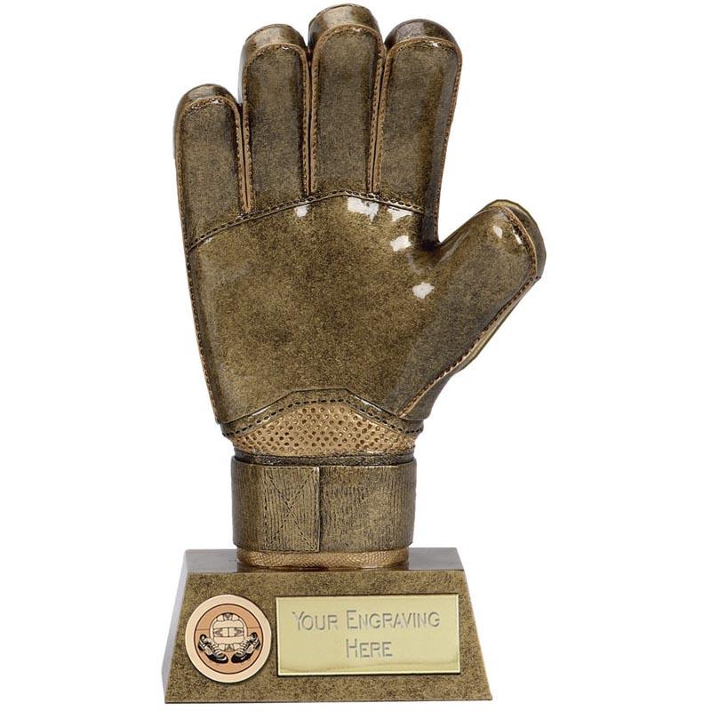 Pinnacle Football Goalie Glove Trophy - A1430C
