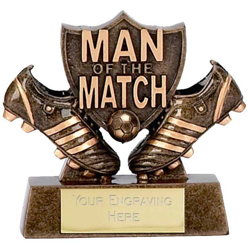 Micro Man of the Match Shield Trophy - A873