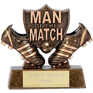 Micro Man of the Match Shield Trophy