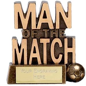 Micro Man of the Match Trophy - A878