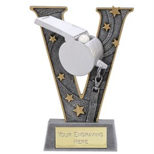 V Series Referee Whistle Trophy