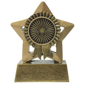 Mini Star Rosette Trophy - A1844