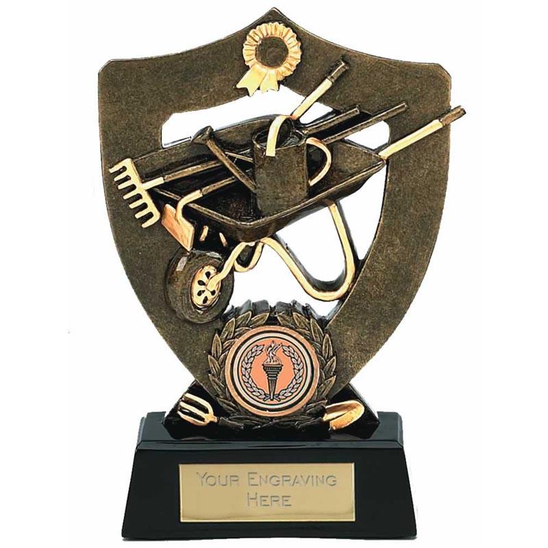 Celebration Gardening Shield Award - A814