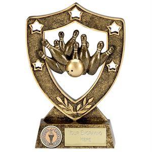 Shield Star Ten Pin Bowling Award