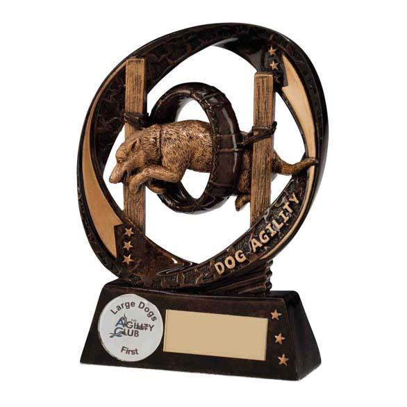 Typhoon Dog Agility Trophy - RF16084B