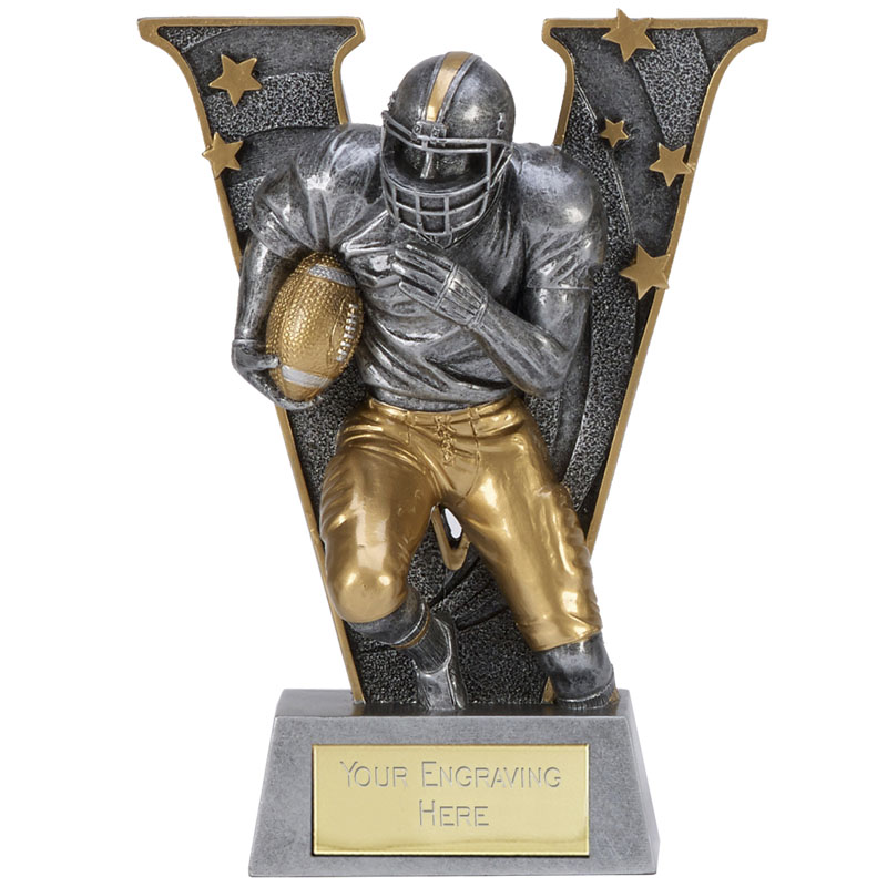 V Series American Football Trophy - A1495