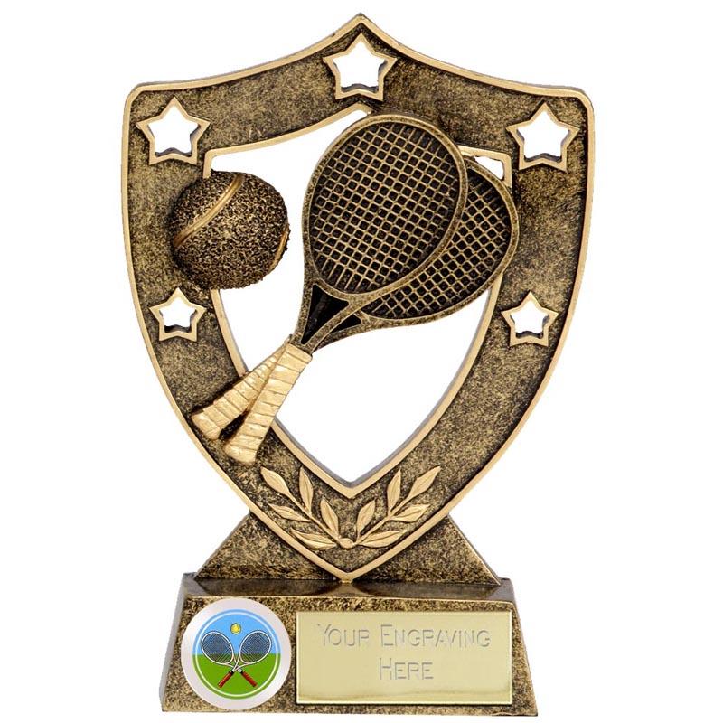 Shield Star Tennis Award - N01033