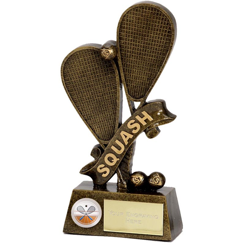 Pinnacle Squash Trophy - A1261