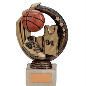 Renegade Legend Basketball Trophy Antique Bronze Small - TH17252B