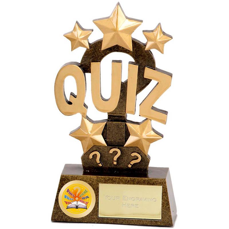 Pinnacle Quiz Trophy - A1260A