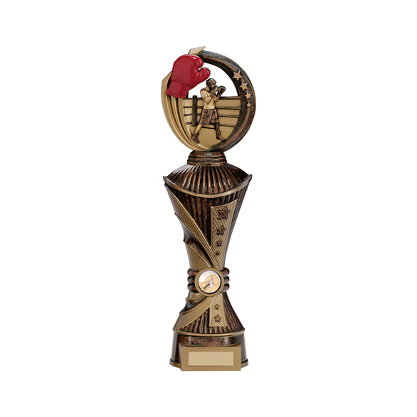 Renegade All Star Boxing Heavyweight Trophy Antique Bronze - PX17253
