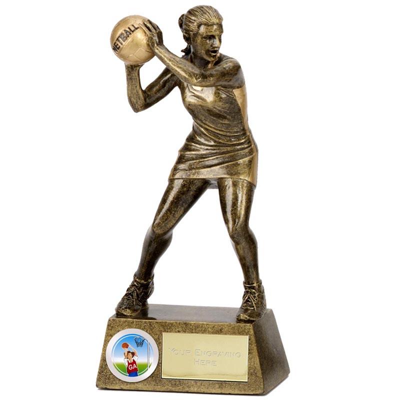 Pinnacle Netball Trophy - A1203