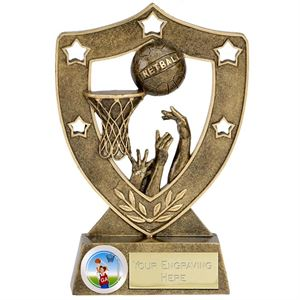 Shield Star Netball Award - N01036