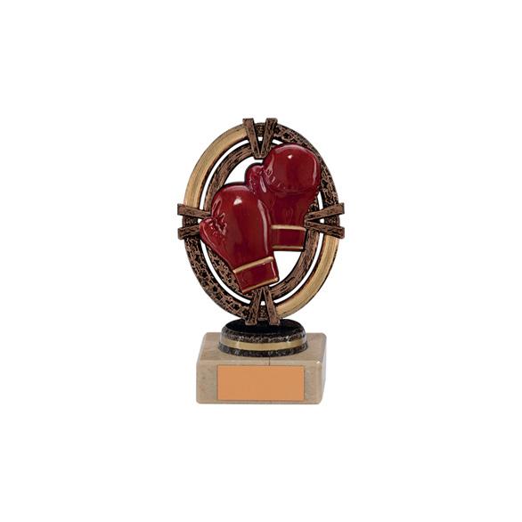 Maverick Legend Boxing Trophy Bronze Small - TH16003A