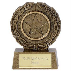 Mini Star Laurel Trophy - A1335