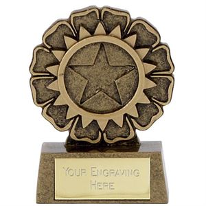 Mini Star Rosette Trophy - A1337