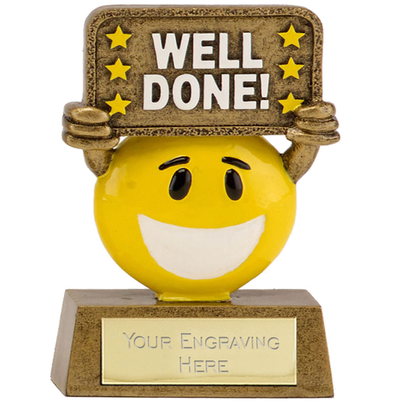 Happy Chappy Well Done Award - A1640