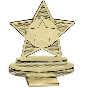 Global Star Metal Trophy Gold - GB011.01