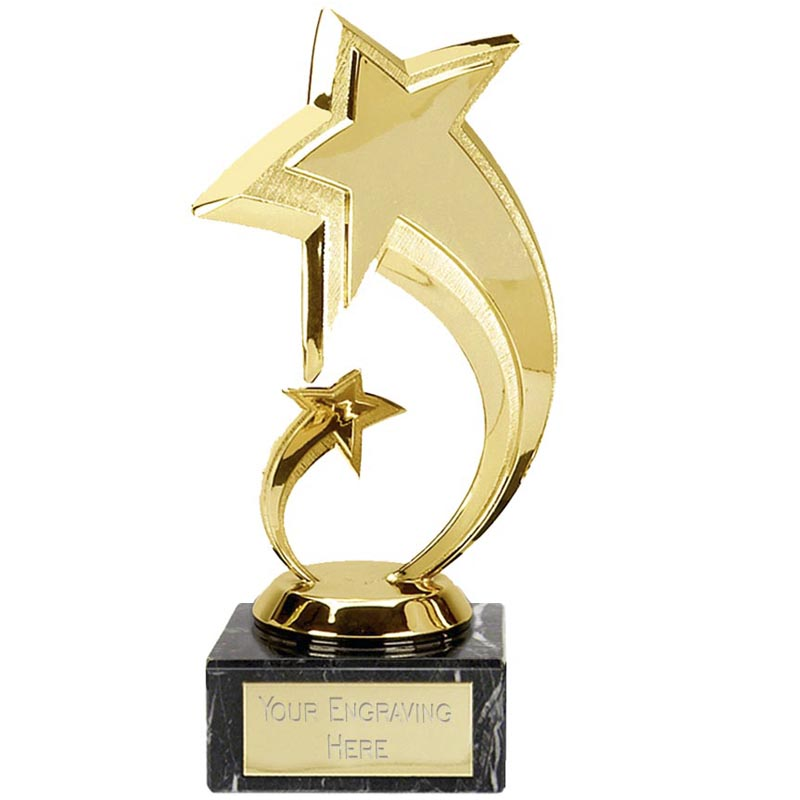 Shooting Star Trophy Gold