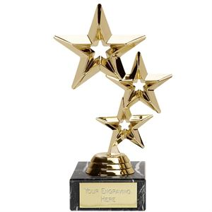 Triple Star Trophy Gold - FT94A