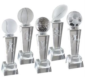 Sports Glass Trophies & Awards