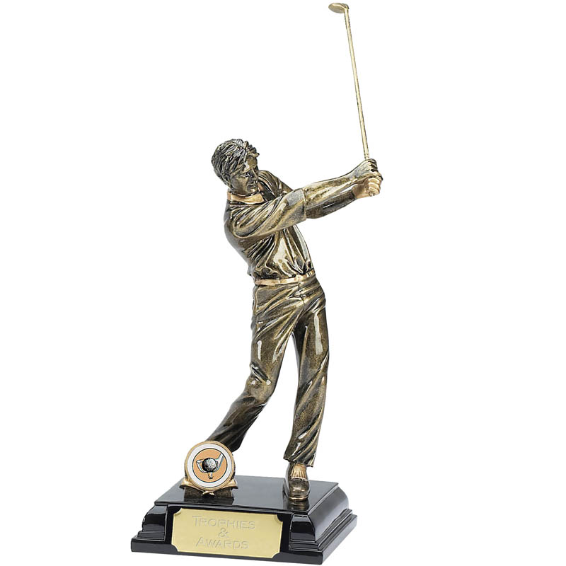 Stature Golf Male Trophy - A342