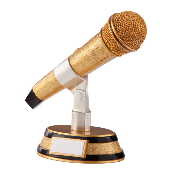 Karaoke King Microphone Award - RF1380