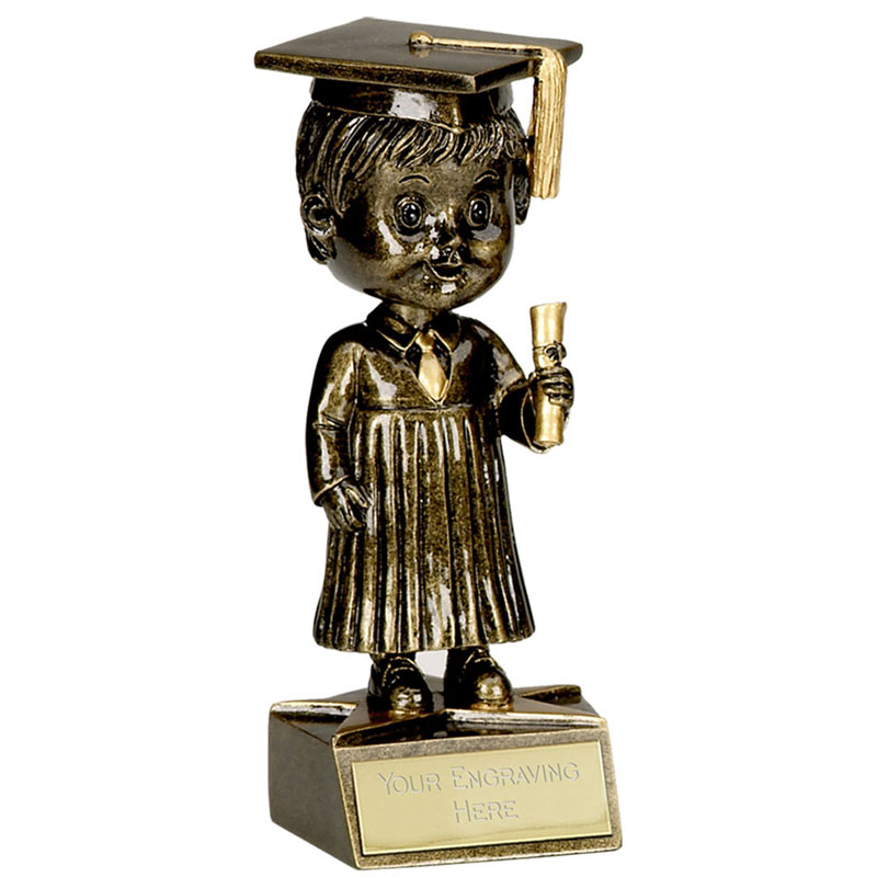 Bobble Head Male Graduation Award - A1162