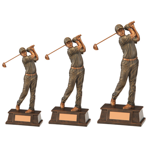 The Classical Male Golf Trophy 3 sizes - RF17065