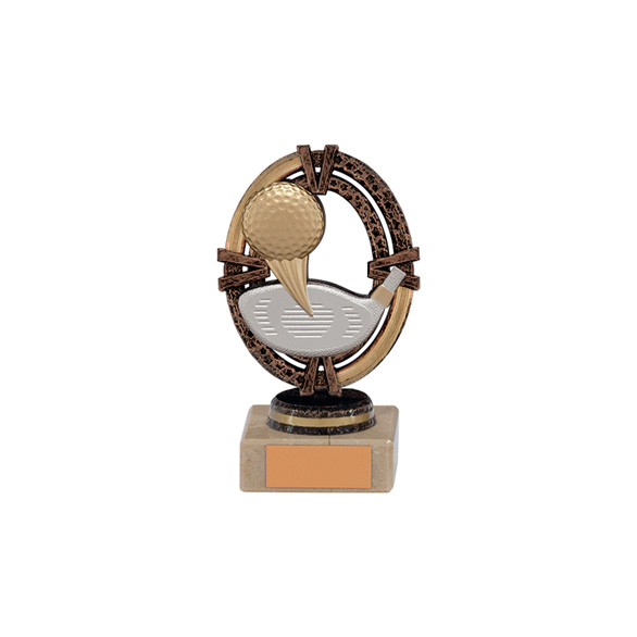 Maverick Legend Golf Trophy Bronze Small - TH16011