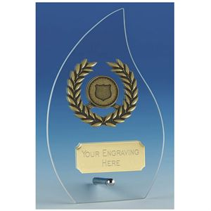 Hope Flame Glass Award - JC127