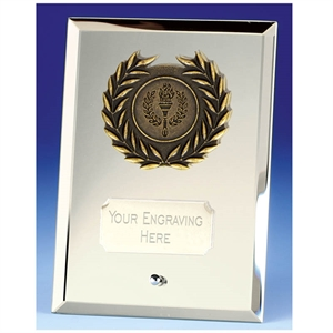 Crest Mirror Silver Glass Award - JC081